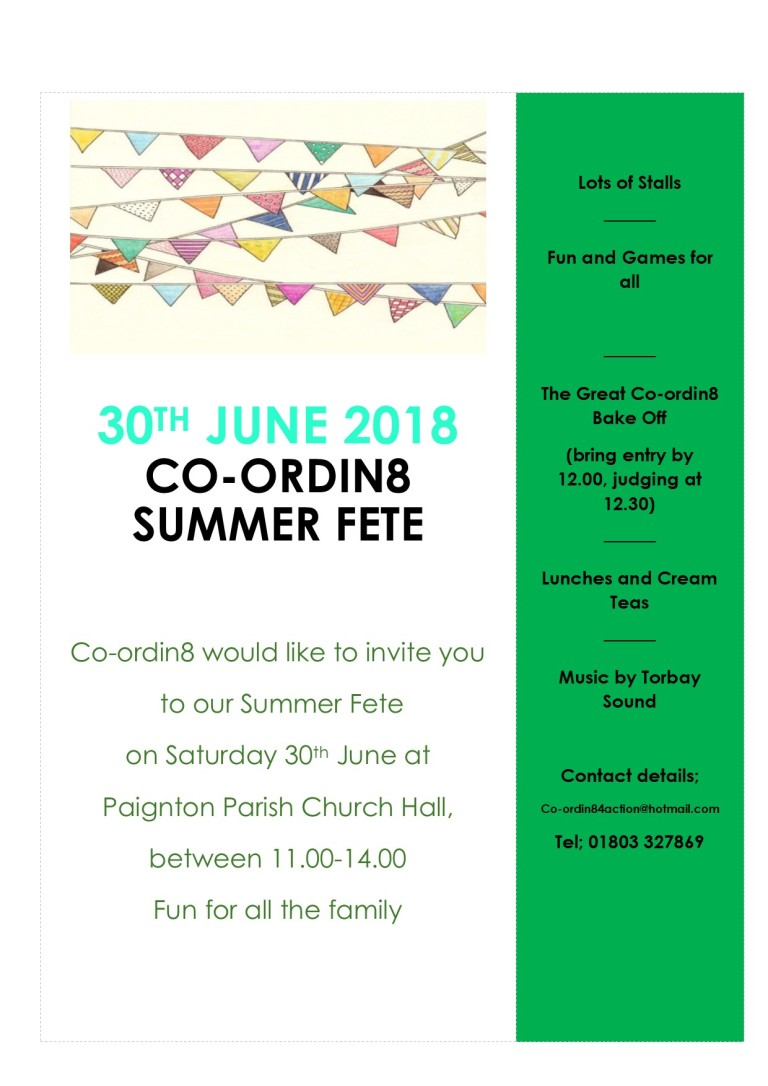 Coordin8 Summer Fete